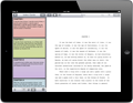Storyist for iPad