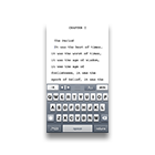 Text Editor on iPhone